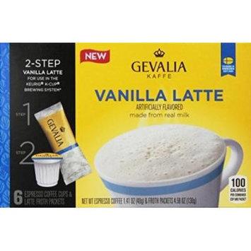 Gevalia Cafe Style Vanilla Latte Coffee, 5.99 Ounce
