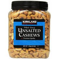 Kirkland Signature Kirkland Signature Unsalted Cashews, 2.5 Pound (Pack of 2)