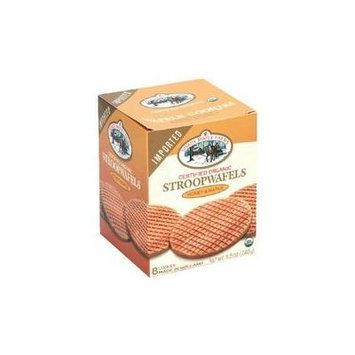 Shady Maple Farms Organic Stroopwafel Cookie-Waffles- Honey And Maple 8x 8.5Oz