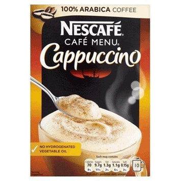 Nescafe Café Menu Cappuccino Sachets 10 x18g