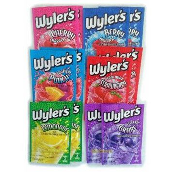 Wyler's Assorted Flavors Soft Drink Mix Sugar Free (12 Pack)...GL