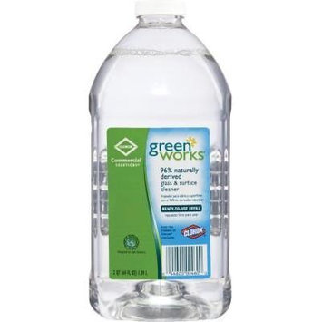 Clorox® Green Works® Naturally Derived Glass and Surface Cleaner, 64 oz