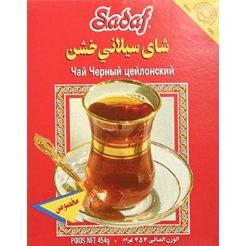 Sadaf Ghalami Pure Ceylon Tea, 16 Ounce