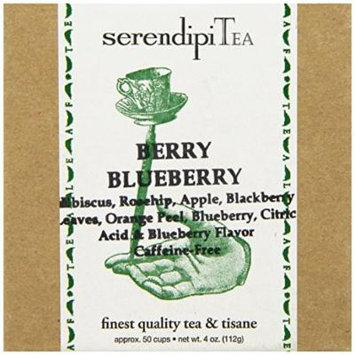 SerendipiTea Berry Blueberry, Fruit Blend Tisane, 4 Ounce Box