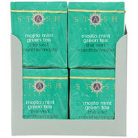 Stash Tea Mojito Mint Green Tea, 10 Count Tea Bags in Foil (Pack of 12)