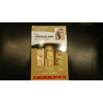 Matrix Total Result Blonde Care Totally Luminous Hair and Enhanced Radiance Gift Set