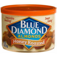 Blue Diamond Almonds, Can, Honey Roasted 6 oz/170 g (Pack 3)