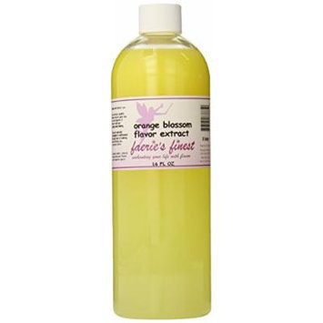 Faeries Finest Flavor Extract, Orange Blossom, 17.86 Ounce