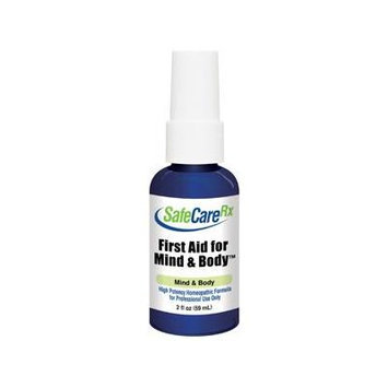 SafeCareRx First Aid for Mind & Body homeopathic 2 oz