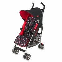 Maclaren Quest Stroller in Scarlet/Black