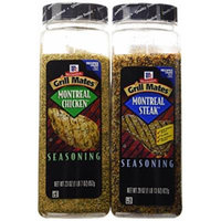 Mccormick Grill Mates Montreal Steak & Chicken Seasonings Bundle