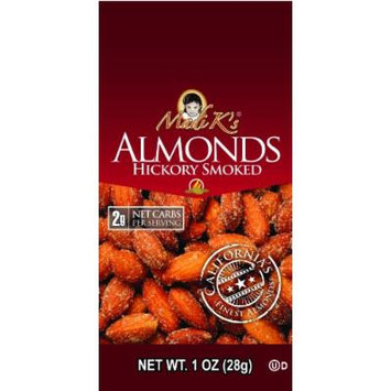 Madi K's Hickory Smoked Almonds, 1-Ounce Bags (Pack of 48)