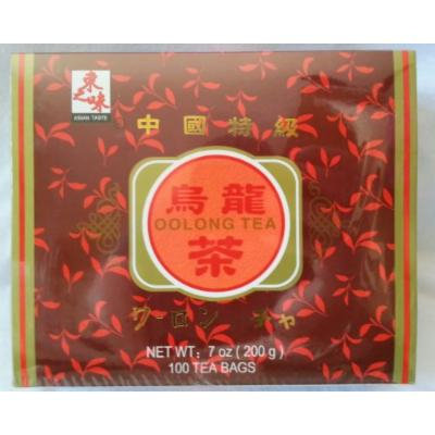 Oolong Tea Box (100 Tea Bags) - 7 Oz.