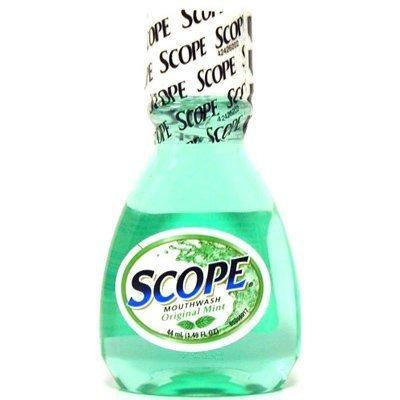 Scope Mouthwash 1.49 oz. Original Mint (Pack of 4)