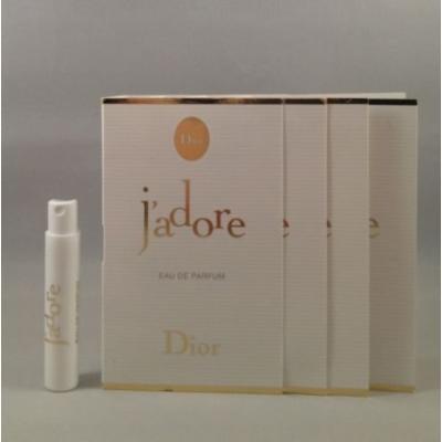 4 Dior J'adore Eau De Parfum 1 Ml/0.03 Oz Each Spray Sample Vial for Women