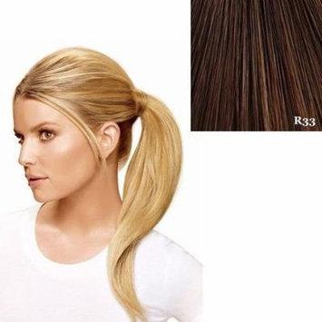 Hairdo Wrap Around Pony Synthetic Hairpiece R33 Dark Auburn