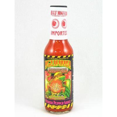Iguana Radioactive Atomic Pepper Sauce 5oz (Pack of 12)