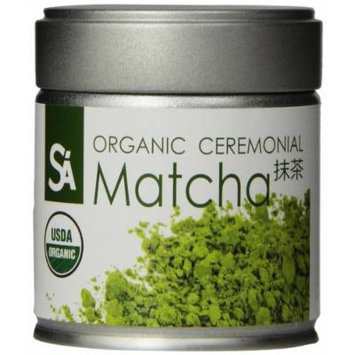 SA Japanese Green Tea Organic Ceremonial Matcha, 1 Ounce