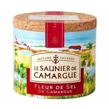 Le Saunier De Camargue Fleur De Sel Sea Salt, 4.4 Ounce Canisters (4 PACK)