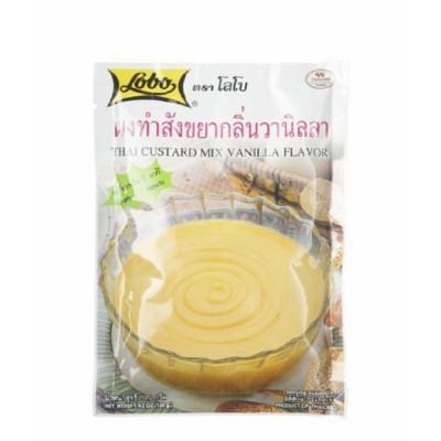Lobo ,Instant Custard Mix Vanilla Falvor - 4.2 Ounces
