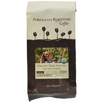 Portland Roasting Coffee Organic WB Coffee, Dark Sumatra, 12 Ounce