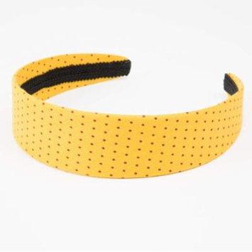 Peppercorn Kids Polka-dot Headband (Sunny Yellow)