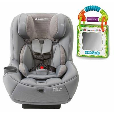 Maxi-Cosi Pria 70 Convertible Car Seat with Easy Clean Fabric and Travel Flash Cards, Grey Gravel