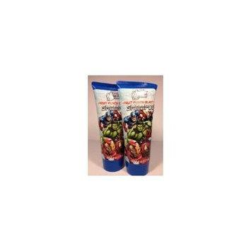 Avengers Assemble Fruit Punch Blast Shampoo 6 fl Oz (Pack of 2)
