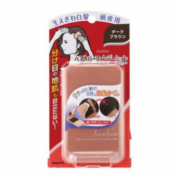 YANAGIYA Jocelyne Hair Cover Foundation Dark Brown 13g for Gray Hair