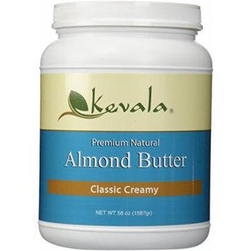 Kevala Almond Butter Creamy 3.5 Lbs