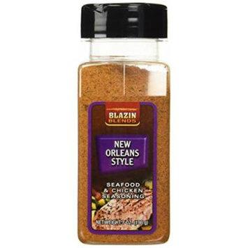 Blazin' Blends New Orleans Style Seafood & Chicken Seasoning (7 0z.)