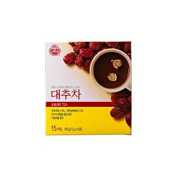 Korean tea powder - 13 g X 15 bags. (Jujube)