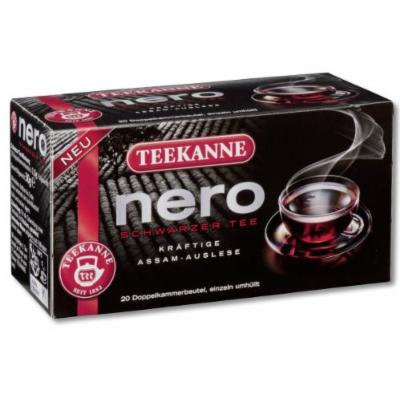 3x Teekanne Nero (each box 20 tea bags)