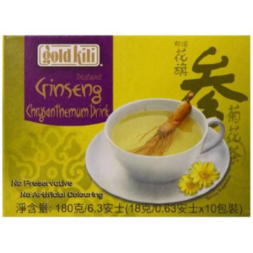 Gold Kili Instant Ginseng Chrysanthemum Drink, 6.3 Ounce