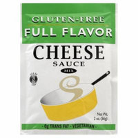 Full Flavor Foods: Gluten Free Cheese Sauce Mix 2 Oz (8 Pack Case)