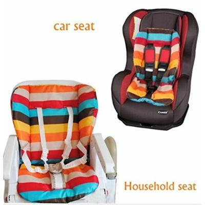 NEW Baby Stroller Cushion Pad Pram Padding Liner/Car Seat Pad Rainbow Waterproof