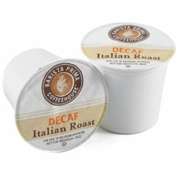 Barista Prima Coffee K-cups, Italian Roast Decaf - 18 Count Keurig Brewed