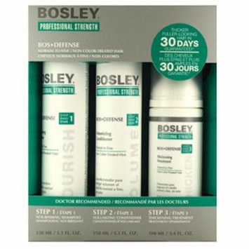 Bosley Defense Starter Pack Non Color Treated Hair