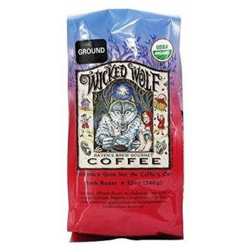 Raven's Brew Coffee - Wicked Wolf Organic Ground Coffee - 12 oz.