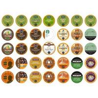 Crazy Cups Decaf Sampler, Single-cup coffee for Keurig K-Cup Brewers (Pack of 35)