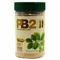 Bell Plantation PB2 Powdered Peanut Butter - 85% Less Fat and Calories 6.5 oz Jar