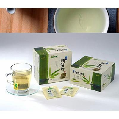 Bamboo TEA 100%/loose Leaf/low Fat 35g (0.7g * 50tea Bags)/korea Tea/no Caffeine