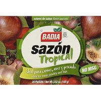 (3 Boxes) Badia, Sazon Tropical Seasoning with Cilantro, 20 packets, 3.52-Ounce, No MSG