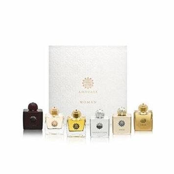 AMOUAGE Fragrance Travel Minature Bottle Collection for Women 6 Piece Set