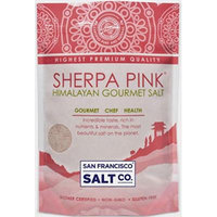 Sherpa Pink Gourmet Himalayan Salt, 20lbs Extra-Fine Grain. Incredible Taste. Rich in Nutrients and Minerals To Improve Your Health. Add To Your Cart Today.