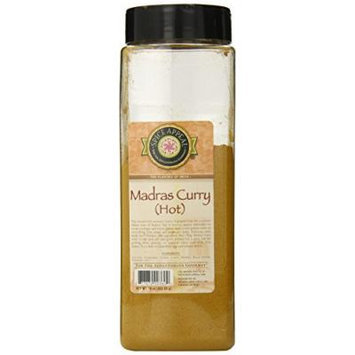Spice Appeal Hot Madras Curry, 16 Ounce