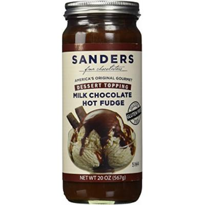 Sanders Hot Fudge (Milk Chocolate Hot Fudge Topping, 20 oz)