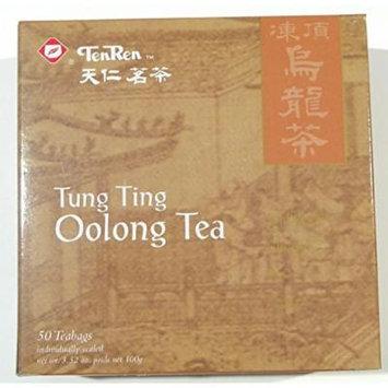 TenRen Tung Ting Premium Oolong Tea (50 tea bags, individually sealed)