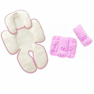 Summer Infant Snuzzler & Cushy Straps Complete Head and Body Support Set, Pink