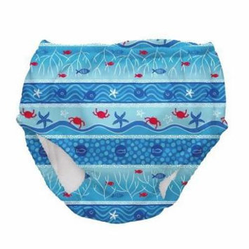 Iplay Boys Mixed Color Ultimate Swim Diaper - This Is for 1 Diaper - Size 4T